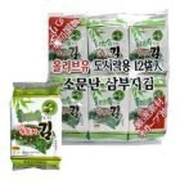 ~ㄚ米~韓式海苔12 包入