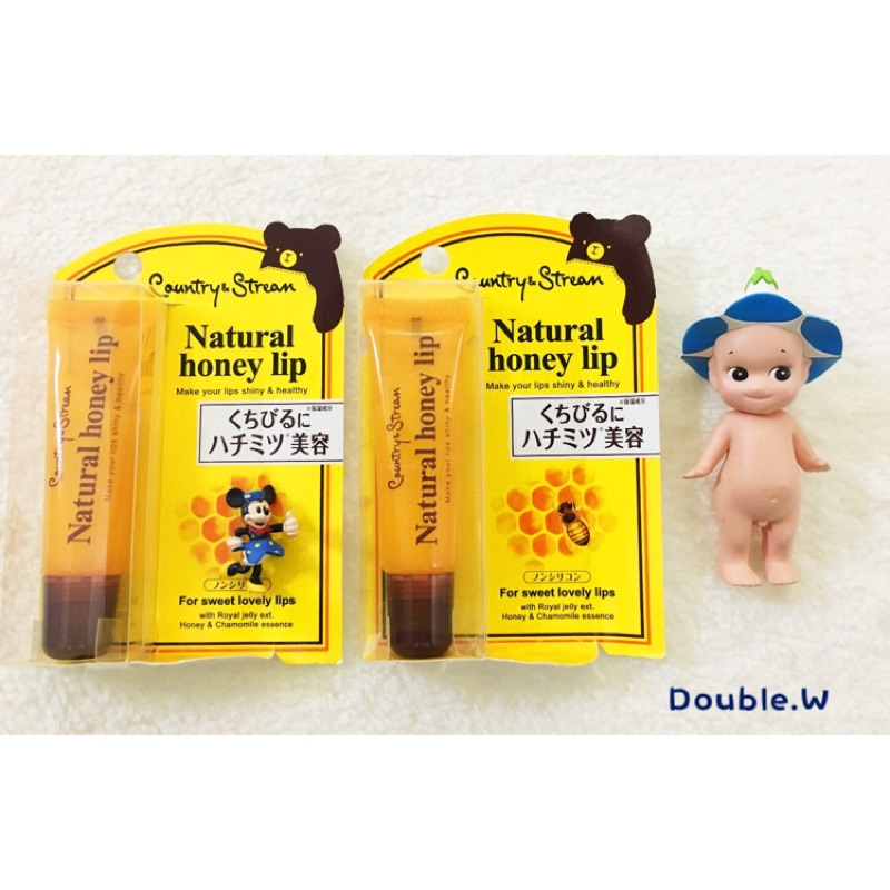 ~Double W ~Country Stream Natural Honey Lip 蜂