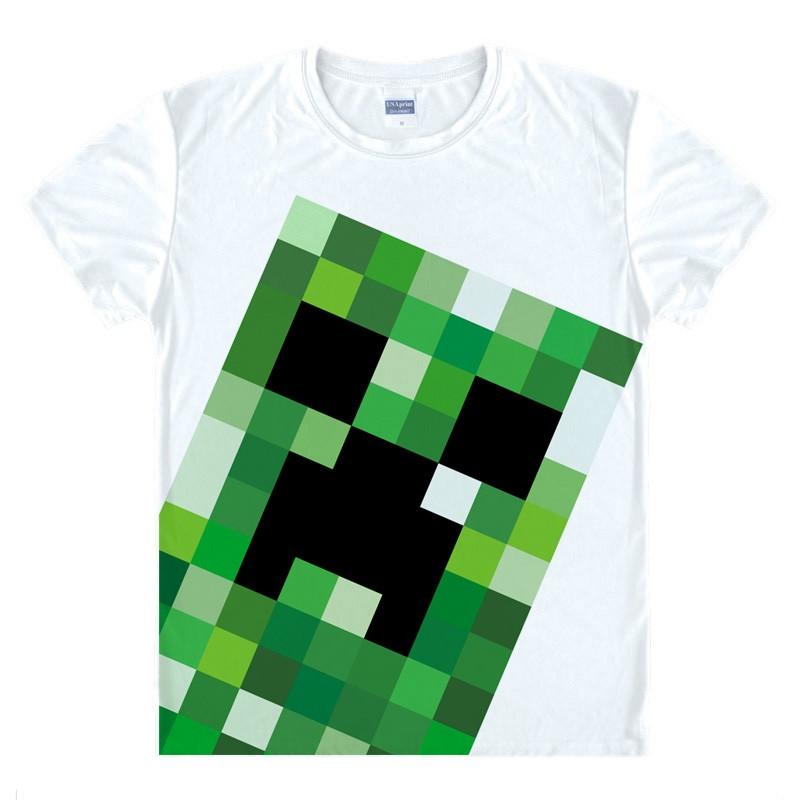 Minecraft 我的世界游戲動漫周邊短袖t 恤衣服服裝 夏裝多款11