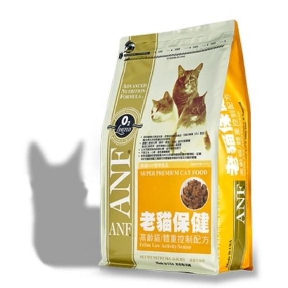 愛拼樂美國ANF 愛恩富老貓保健高齡貓肥胖貓 1 5 公斤1 5KG