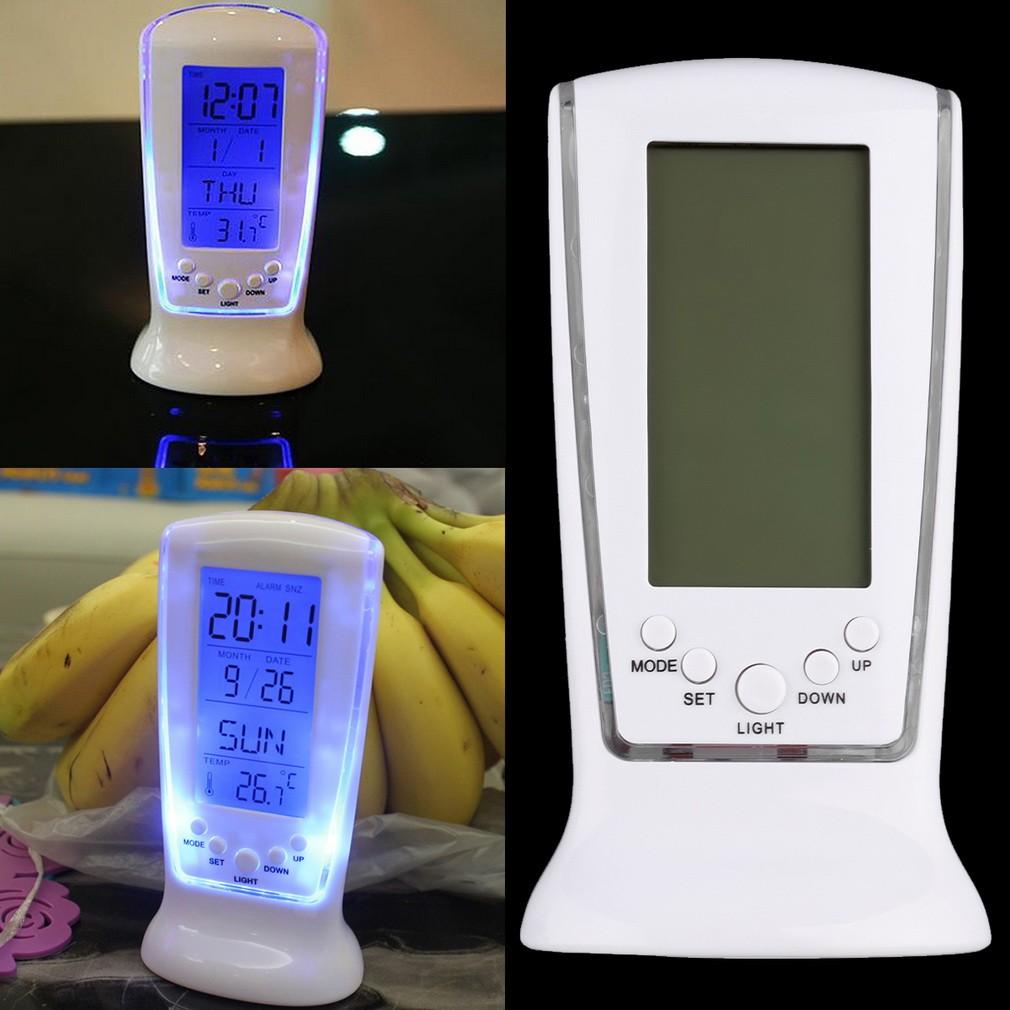 LED 電子錶夜光懶人鬧鐘