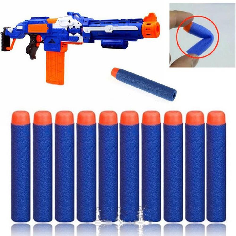 7 2cm 玩具槍NERF 軟彈泡沫軟頭彈 型EVA 精英子彈(100 個)