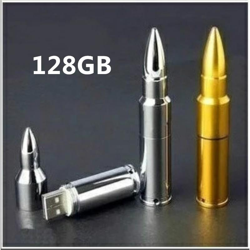 迷你子彈USB 防水高速電腦筆記本音箱 U 盤128G 随身碟電腦128G 優盤防水車載商