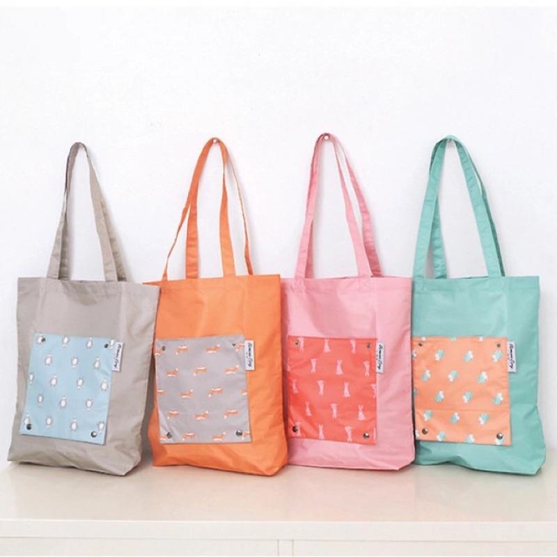 韓國便攜折疊收納背包