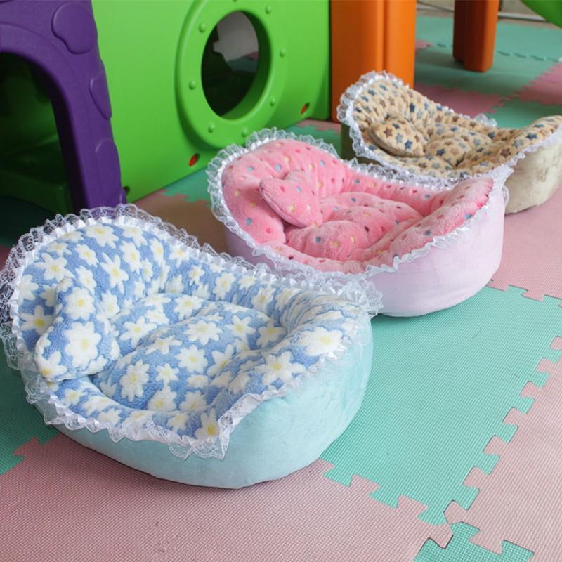 廠家 蕾絲元寶狗窩保暖猫窩寵物窩狗床墊寵物用品冬天一件代發
