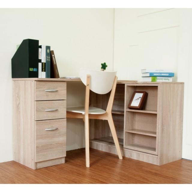 【SHOPPING 】 百變活動雙層書櫃書桌組(二色 )DIY