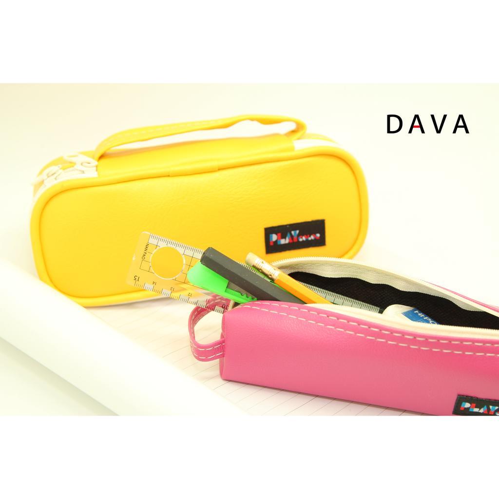 製手提萬用袋文具用收納包化妝用收納包共5 種顏色 乳膠皮上蓋網層好分類