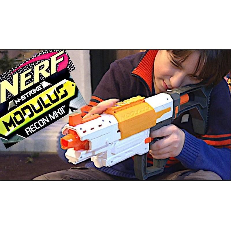 超強機動突襲加送50 彈NERF 自由模組系列MK11 偵查衝鋒槍(彈夾彈匣組小槍水彈槍子