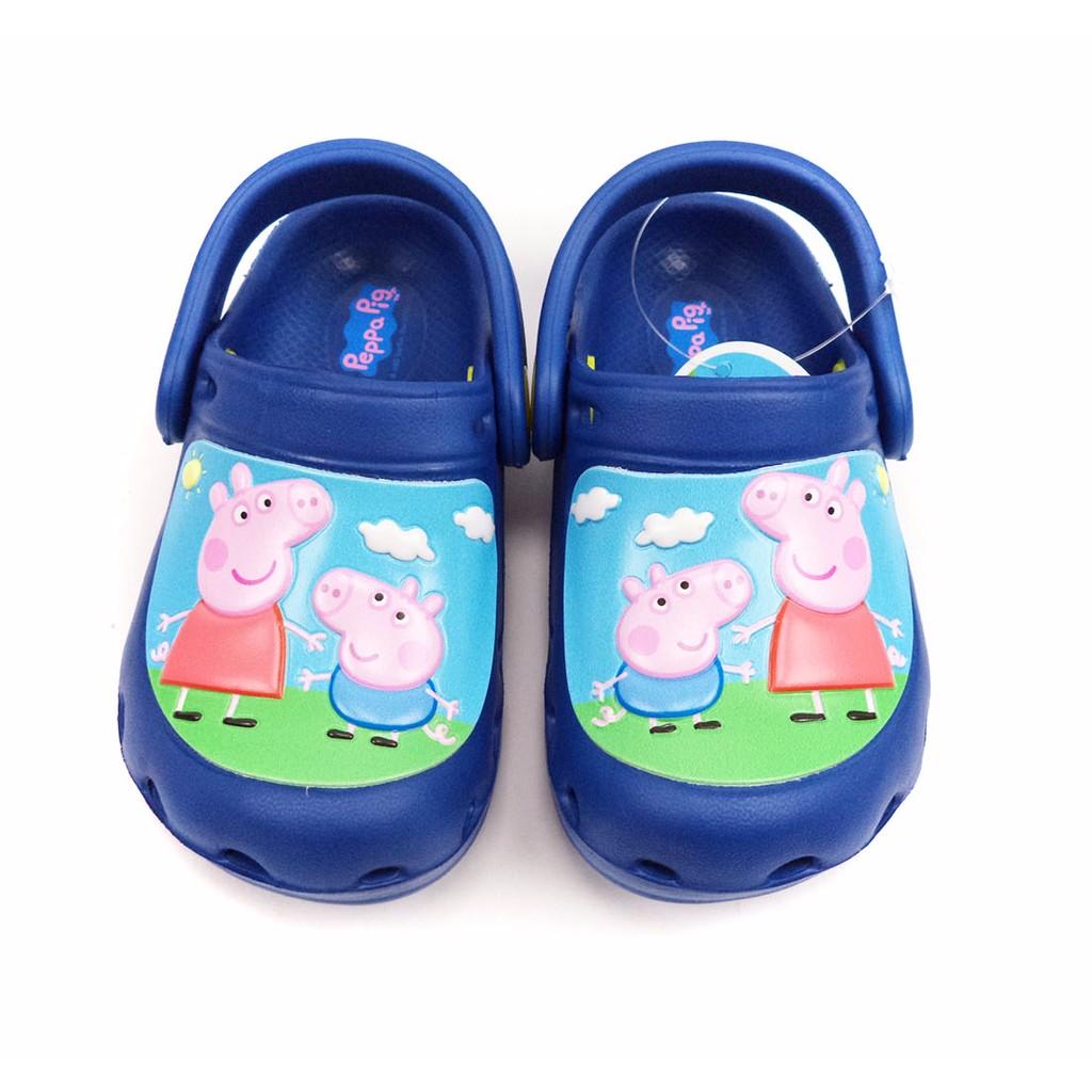 童鞋Peppa Pig 佩佩豬喬治園丁鞋花園鞋PG0001 藍15 20 號
