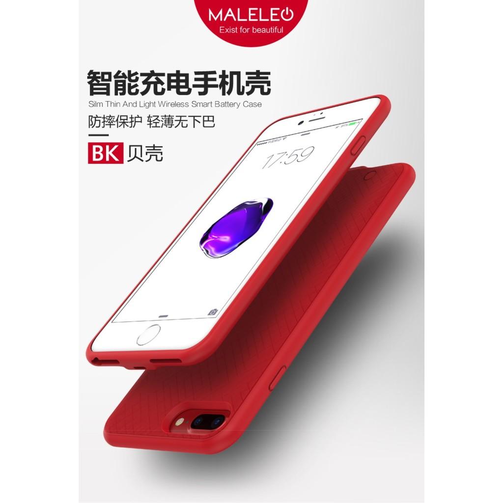 ~ ~MALELEO 防摔超薄充電殼背蓋行動電源IPhone6 6s 6SP 6P 7 7