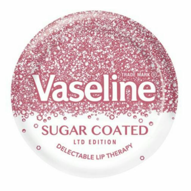 ~英國 ~Vaseline 護唇膏凡士林Sugar Coated 葡萄酒香味( )