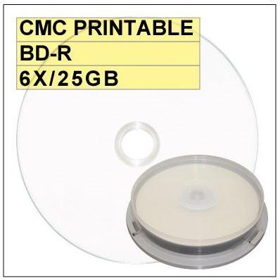 ~亮面滿版可印~ 中環 Glossy Printable BD R 6X 25GB 藍光燒