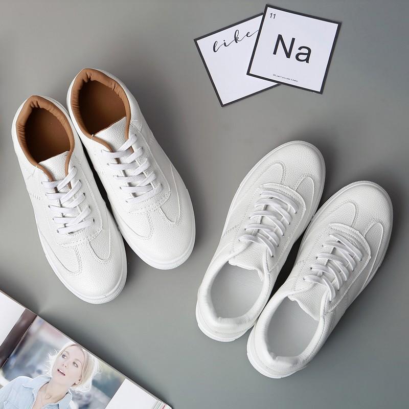 ZUCAS NN 9955 百搭小白鞋女繫帶 透氣女鞋 休閒鞋平底學生板鞋