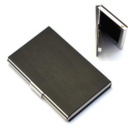 ~1 0109 ~成穩型木紋手感名片夾、名片盒、卡夾黑色