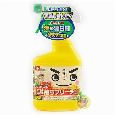 ~JPGO 購~ LEC 激落君廚房漂白噴霧柑橘氣味520ml