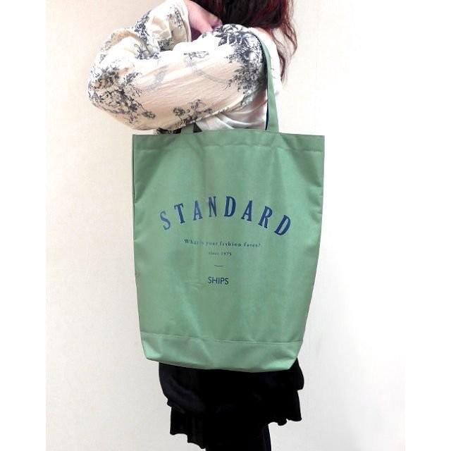 ~Juicy ~ 雜誌GLOW 附贈SHIPS 軍綠色大容量托特包單肩包環保袋 袋可放A4