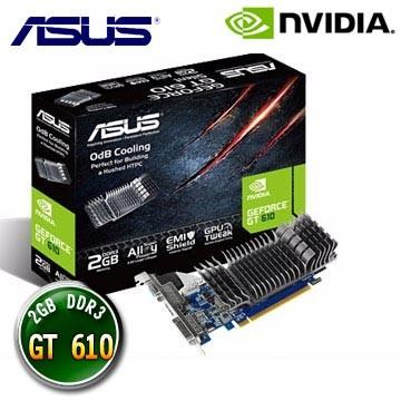 ASUS 華碩GT610 SL 2GD3 L GT610 2G DDR3 GT 610 顯