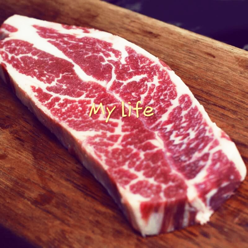 穀飼美國牛,無骨牛小排部位切片