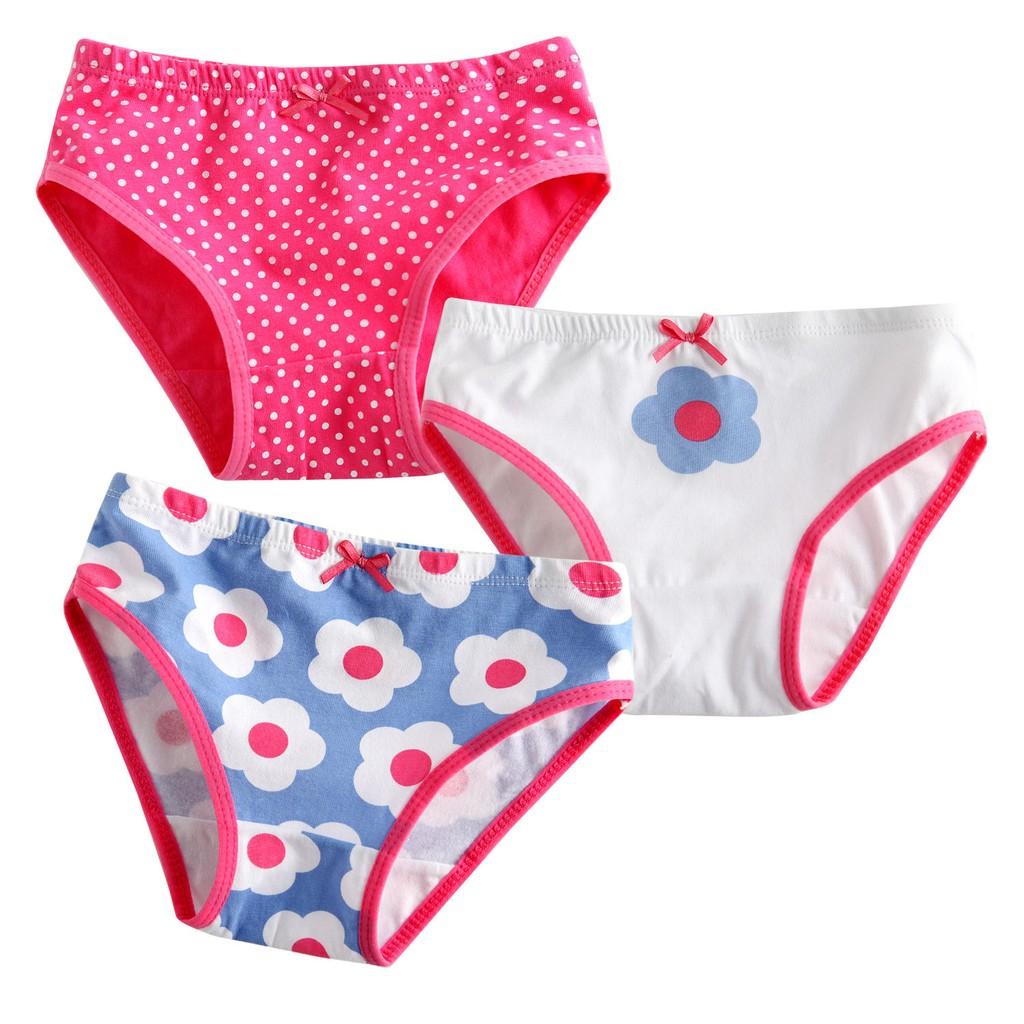 韓國Vaenait Baby ~女童純棉三角內褲~繽紛花朵(2T 7T )