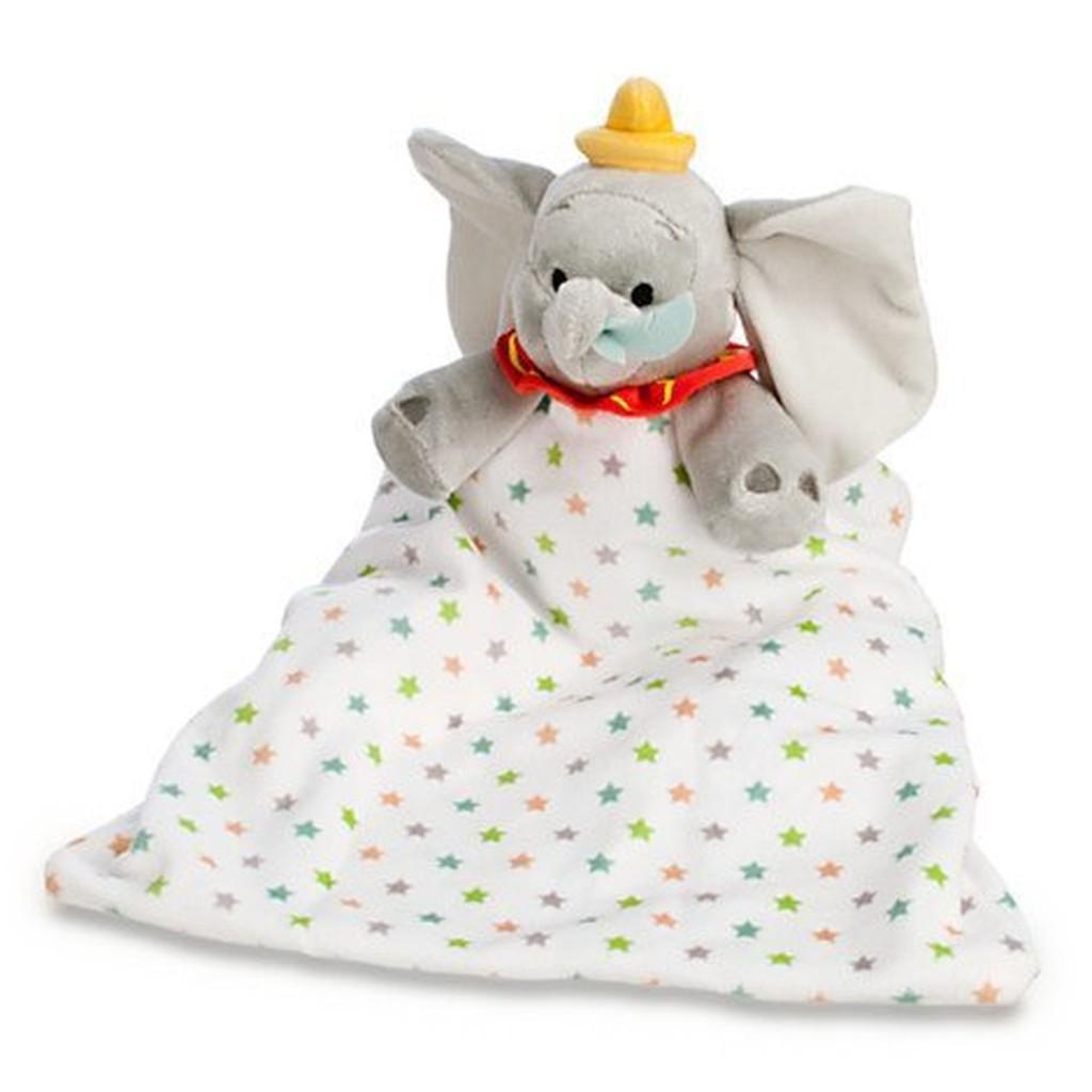 ~美國官方 ~迪士尼限定款→寶寶 !軟綿綿隨身小被毯→小飛象