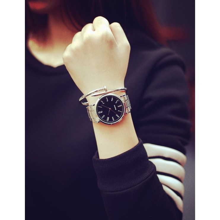 簡約無印超薄鋼帶男錶女錶情侶錶~SB050611 ~