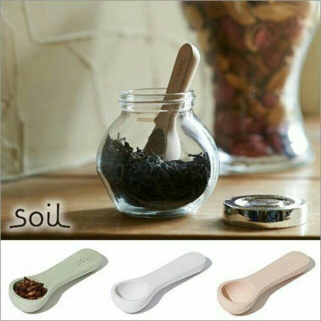soil 珪藻土矽藻土防潮湯匙長柄茶匙款天然乾燥塊乾燥劑