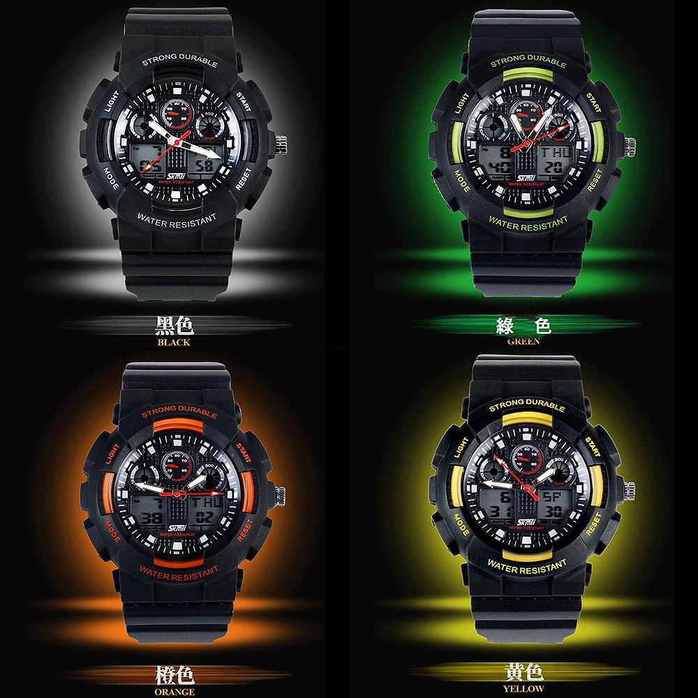 Z MO 鈦鋼屋 潮流戶外型手錶30 米深度防水百搭 系列SKMEI 正品單個價~SWE0