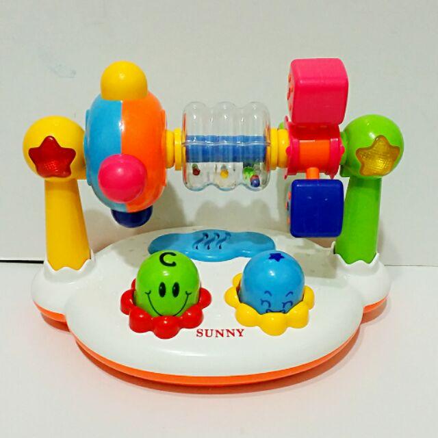 嬰兒寶遊園機音樂聲響玩具愷愷麻