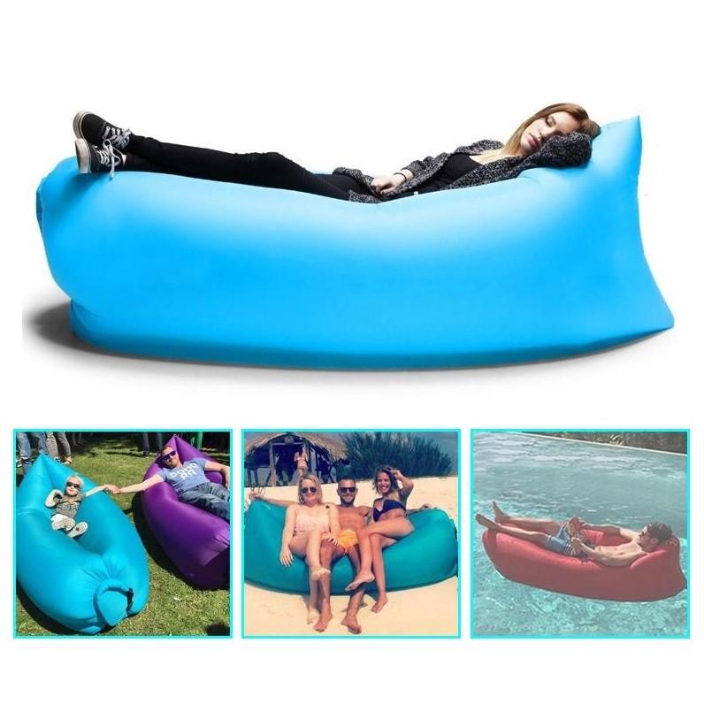 ☮ShopFun ☮~013 ~空氣沙發床Lamzac 同款充氣沙發懶人沙發戶外空氣床躺椅