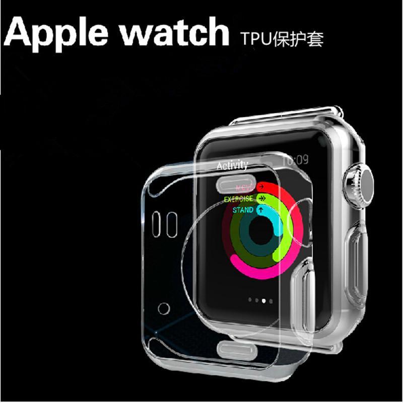 Apple Watch 一組三個超薄透明保護套38mm 42mm 手錶保護殼蘋果手錶iWa