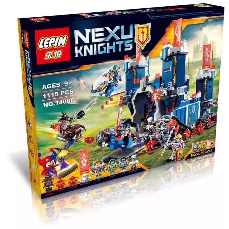 玩美積木 當天發樂拼14006NEXO 未來騎士團騎士的高科技移動要塞兼容樂高70317L