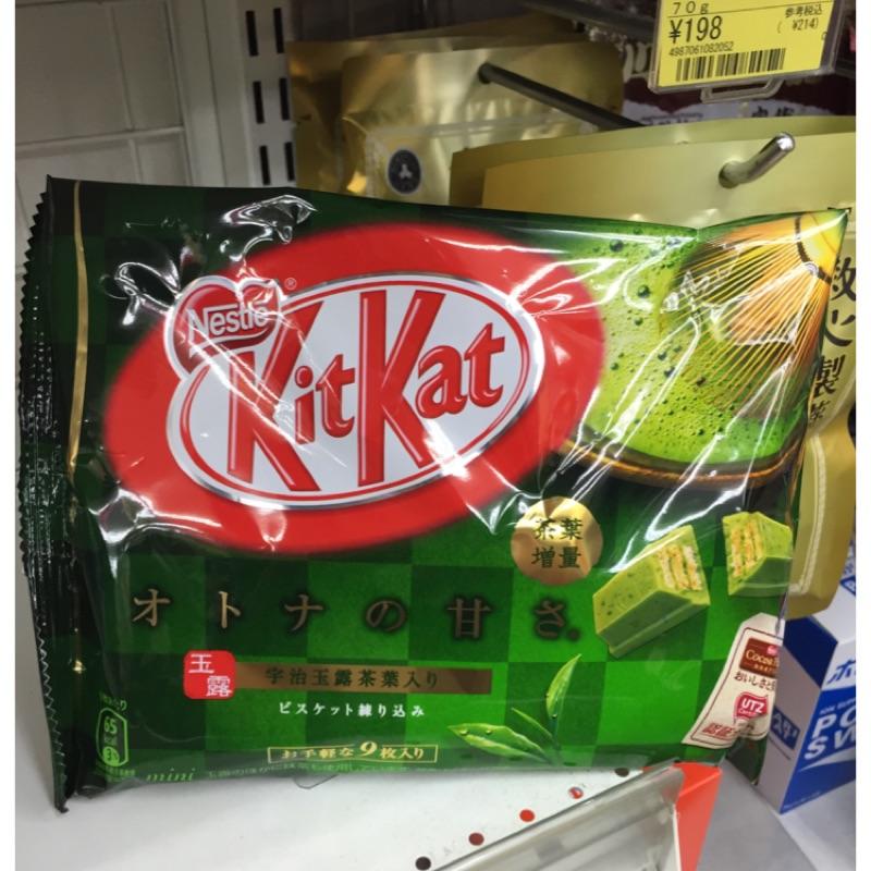 KitKat 抹茶巧克力餅乾袋裝