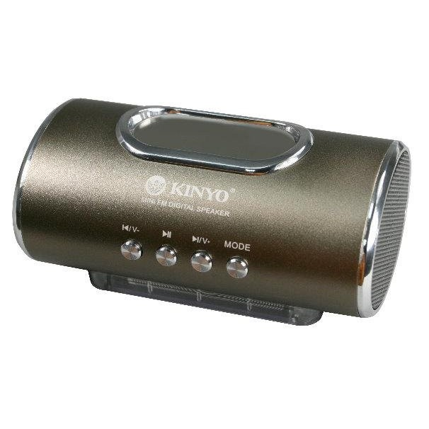 小港3C ~一年保~KINYO MPS 378 MPS378 LED 顯示FM 讀卡音箱~
