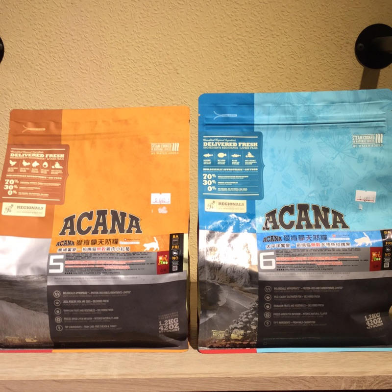 [Lumi 來 ]原包裝1 2 公斤愛肯拿天然糧無穀貓飼料挑嘴加拿大ACANA