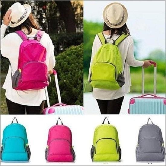 My Color ~Y21 ~ 旅行可折疊雙肩包多 雙肩背包收納包旅行包輕薄款型