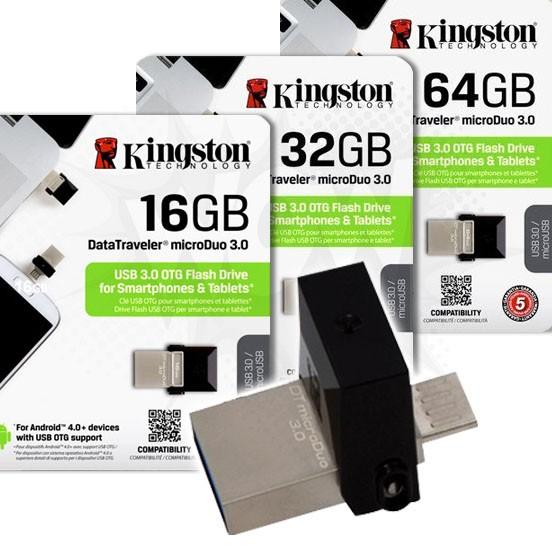 金士頓Kingston DataTraveler microDuo OTG 3 0 隨身碟