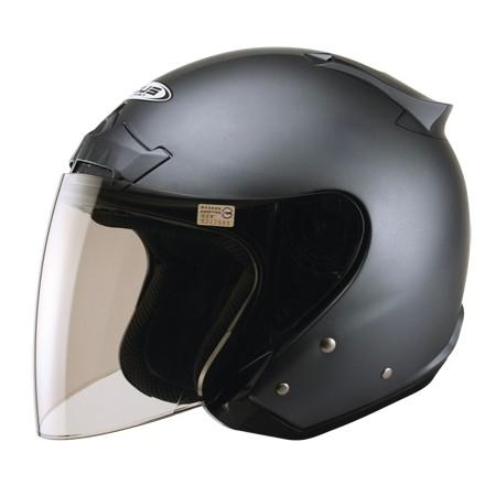 ZEUS zs609 新鐵灰~體殼左右下部增加鏡片夾具,可增加保護性類似全罩式之