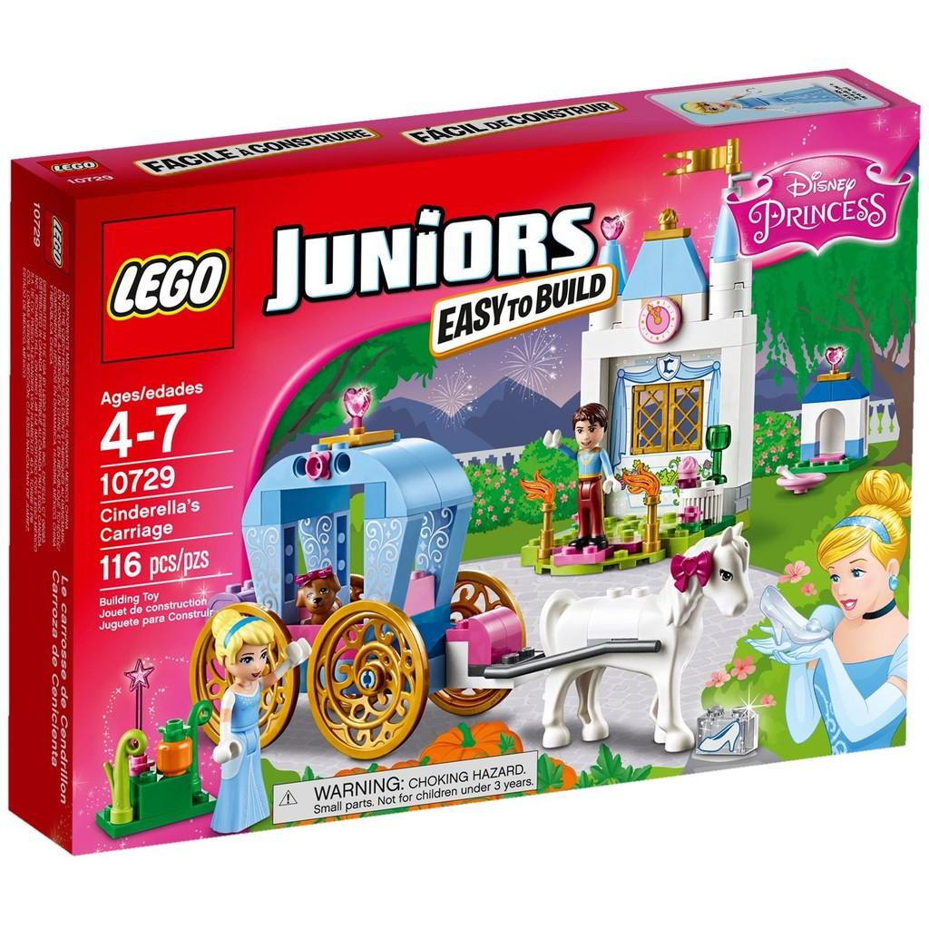 LEGO 樂高Juniors 系列10729 Cinderella 's Carriage