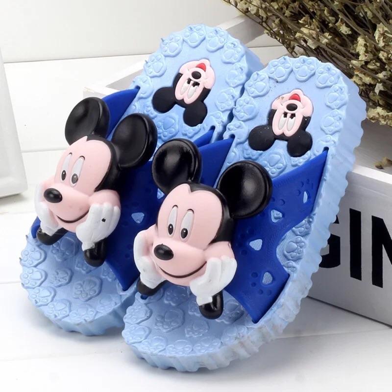 米奇米妮立體 涼拖鞋男女童防滑拖鞋鞋卡通 軟底鞋( ) 請詳閱尺寸表並註明顏色, 無法退換