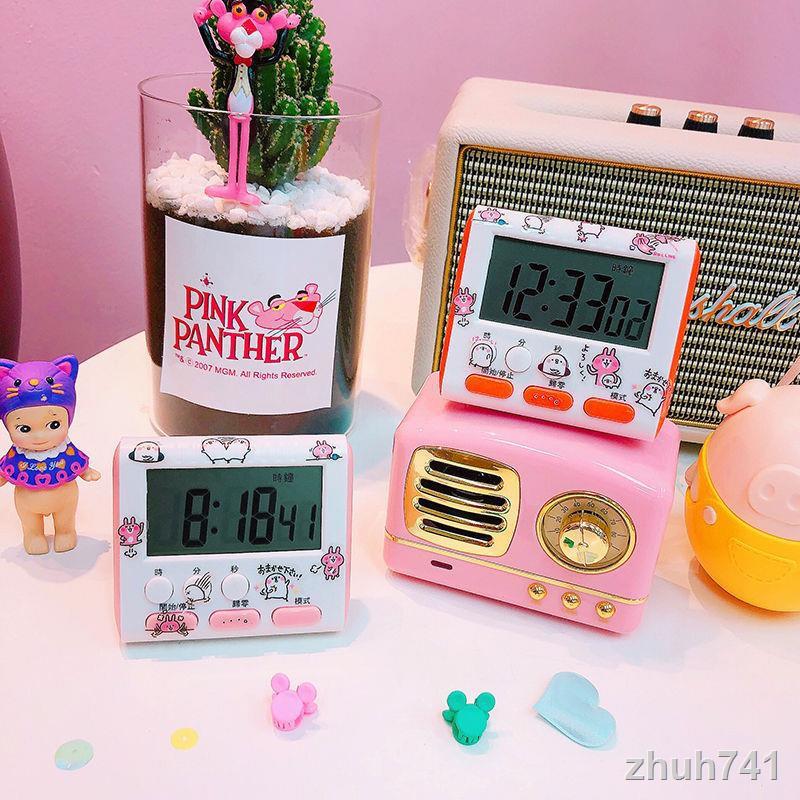 📣計時器現貨 抖音學習靜音廚房計時器學生鬧鐘可愛做題少女心定時間效率管理器 鬧鐘 時鐘 計時 小鬧鐘 靜音計時器