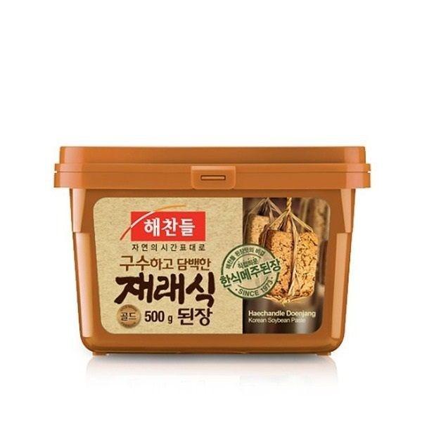 韓國CJ 韓式味噌醬500g 韓國俗稱大醬、黃豆醬,可做海帶味增湯辣味增醬