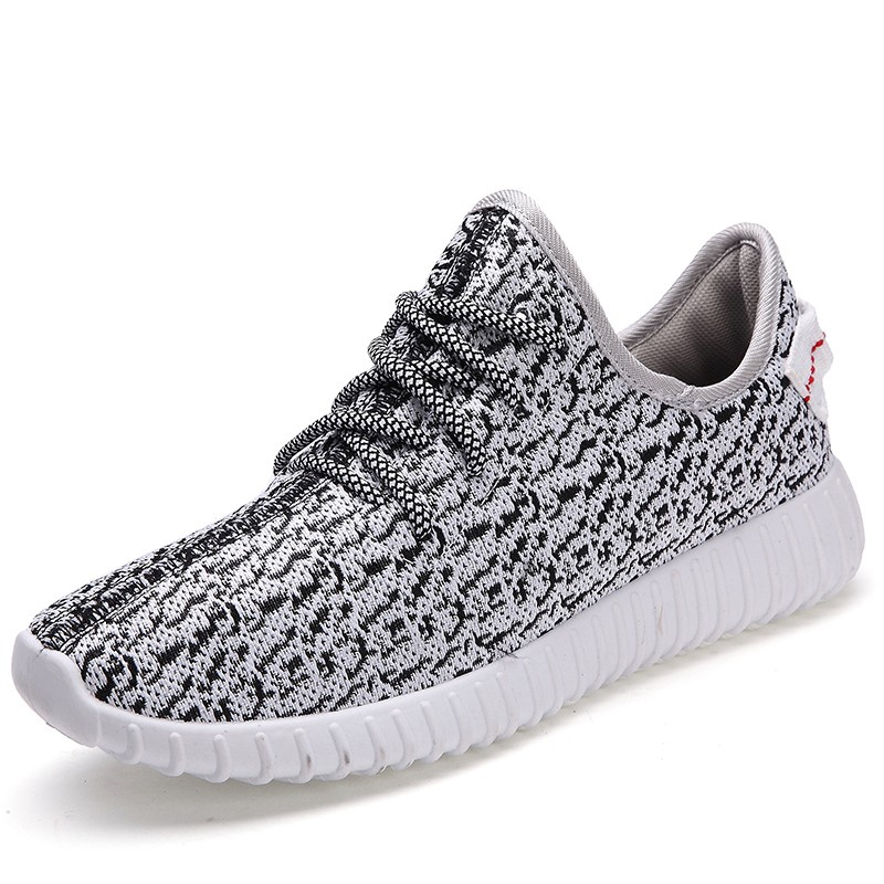USUN ®~侃爺椰子鞋~Y350 男鞋 透氣網鞋男情侶跑步鞋男士 鞋男女潮鞋子男休閒鞋3