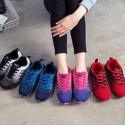 ✨ ✨韓國~潮流 ~情侶款 鞋跑步鞋 超輕透氣網布鞋男女士 鞋避震速乾防水 鞋