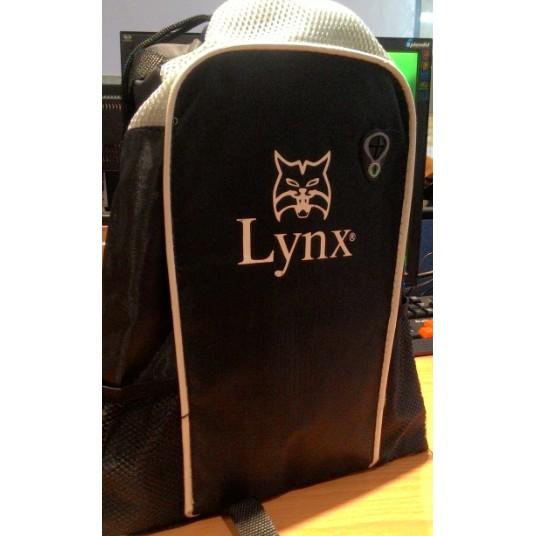 Lynx 束口背包 後背包男性包包與 後背包束口袋黑色 送禮雙肩背包