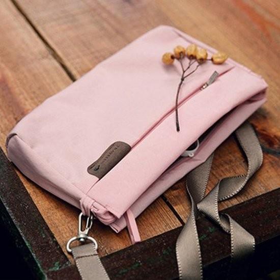 Color me ~J207 ~多夾層款肩背方包 包側背包手提包置物出國旅行收納袋戶外媽媽