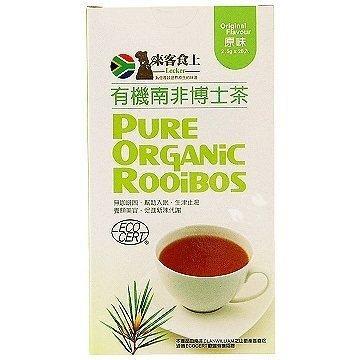 來客食上有機南非博士茶原味2 5g 20 入