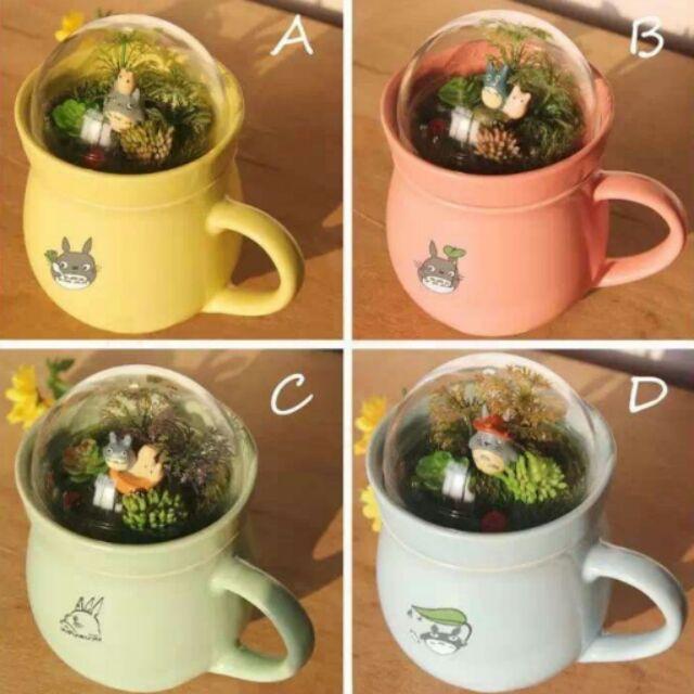 景觀龍貓陶瓷馬克杯