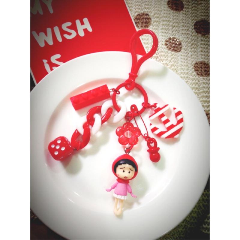 [ ]櫻桃小丸子、吊飾、鑰匙圈