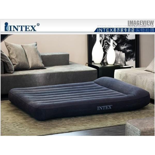 微利良品美國INTEX 66768 雙人豪華內置枕頭充氣床墊氣墊床空氣床137 191 3