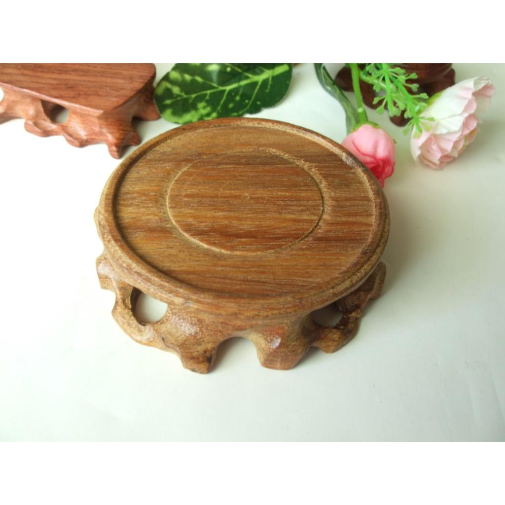 直木圓形7 5cm 不上漆擺件底座D17 奇石花盆玉石工藝品擺放實木根雕底座